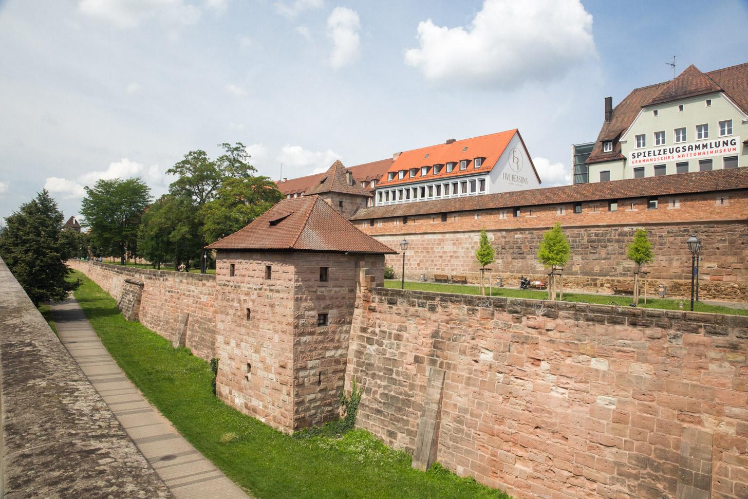 Stadsmuren van Neurenberg