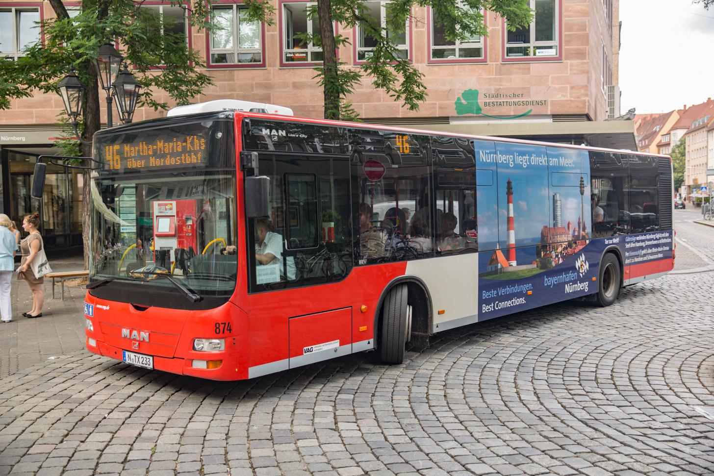 Vervoer in Neurenberg